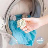 洗衣球 大號家用洗衣球魔力去污防纏繞清潔球衣物洗護球洗衣機用18個裝 1色
