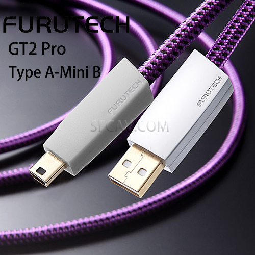 【新竹音響勝豐群】Furutech 古河 GT2 Pro Type A-Mini B USB數位訊號線 傳輸線(1.2M)