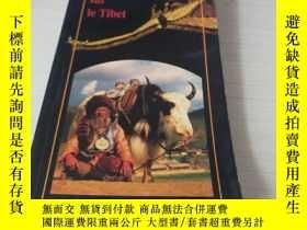 二手書博民逛書店Cent罕見questions sur le Tibet 西藏百