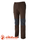 【Wildland 荒野 特 男款 RE粗曠拼接保暖長褲《深卡其》】0A52362/四向彈性/耐磨/粗曠硬挺