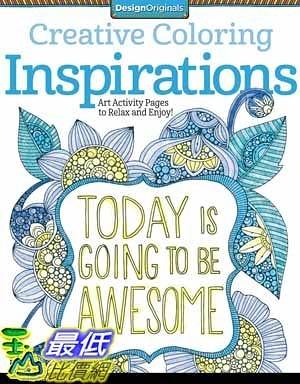 [104美國直購] 2015 美國暢銷書排行榜 Creative Coloring Inspirations