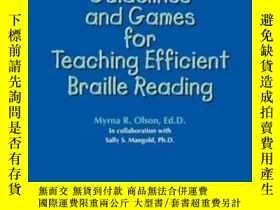二手書博民逛書店Guidelines罕見And Games For Teaching Efficient Braille Read