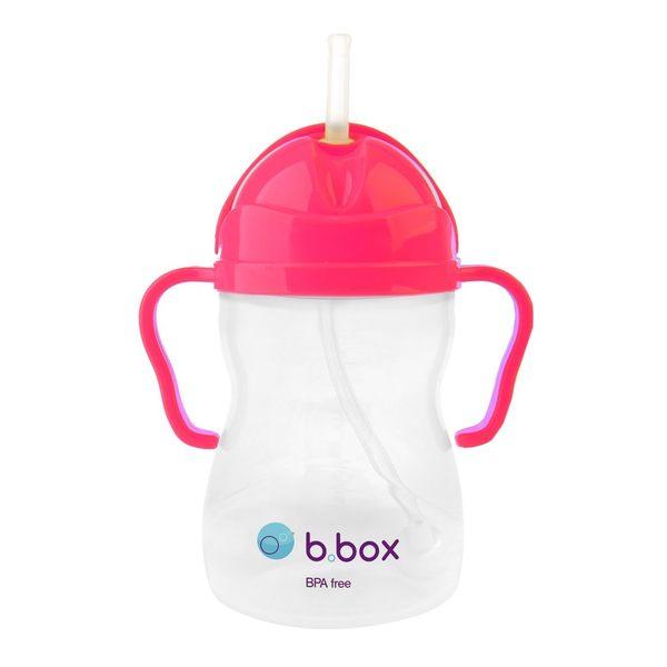 【澳洲b.box】防漏學習水杯(240ml)-亮粉