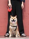 寵物牽引繩狗狗寵物牽引繩自動伸縮狗鏈泰迪小型大中型犬用品狗繩鏈子遛狗繩 夏季上新