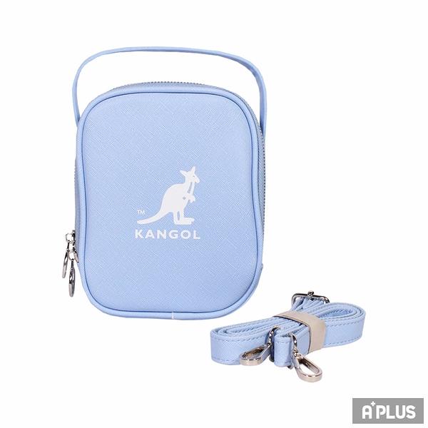 KANGOL 包 BAG 英國袋鼠 小方包 十字紋皮革 斜背包 - 6055301281