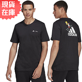 【現貨】Adidas x THE SIMPSONS 男裝 短袖 辛普森家庭 滑雪 純棉 黑【運動世界】GS6221