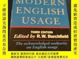二手書博民逛書店The罕見New Fowlers Modern English