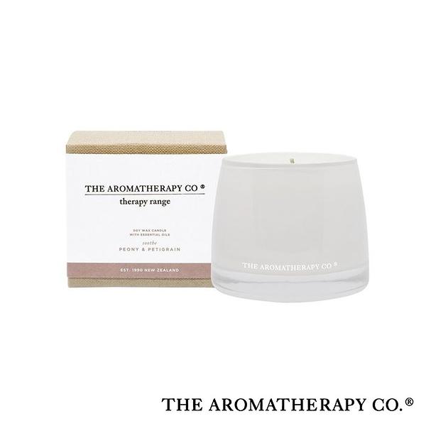 紐西蘭 The Aromatherapy Co Therapy系列 玫瑰牡丹 260g 香氛蠟燭