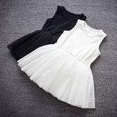 極簡背心蓬蓬紗裙洋裝 童衣 無袖洋裝