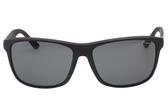 GUCCI偏光太陽眼鏡 碳纖維 紅綠腳 中性(黑色)