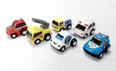 迷你Q版車 迴力車 內含六款小車 隨機出貨 TOYeGO 玩具e哥
