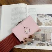 錢包女短款韓版簡約零錢包卡包