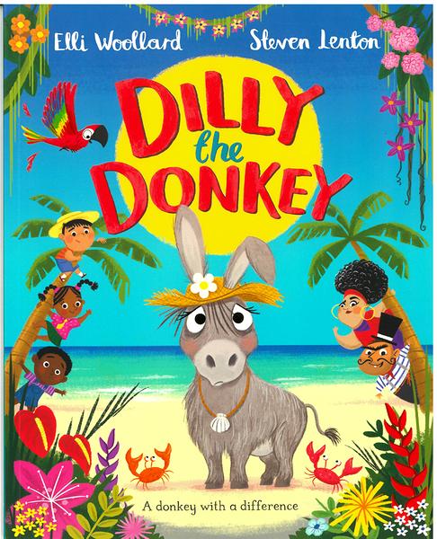 【麥克書店】DILLY THE DONKEY /英文繪本《自我認同 Respect Yourself》