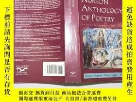 二手書博民逛書店英文原版The罕見Norton Anthology of Poetry 諾頓詩選(第四版)16開Y11403