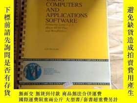 二手書博民逛書店Using罕見computers and application