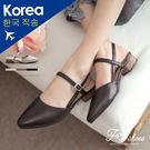 包鞋.縷空感尖頭包鞋-FM時尚美鞋-韓國...
