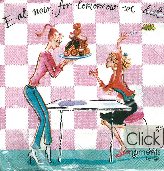 Eat Now-德國 IHR 副品牌Click moments 餐巾紙(25x25cm)