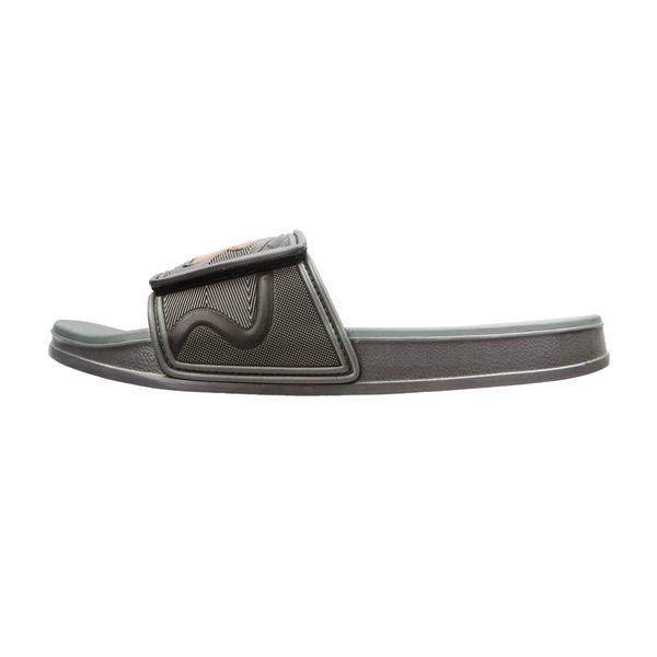 《Diadora》男鞋 雙密度拖鞋 灰桔色 DA71139