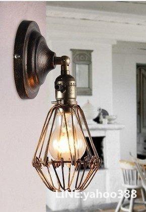 壁燈 複古鐵藝工業造型 美式鄉村風