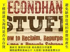 二手書博民逛書店Building罕見with Secondhand Stuff,