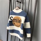 童裝男童套頭毛衣2018新款冬季中大童加厚針織衫兒童冬裝洋氣線衣