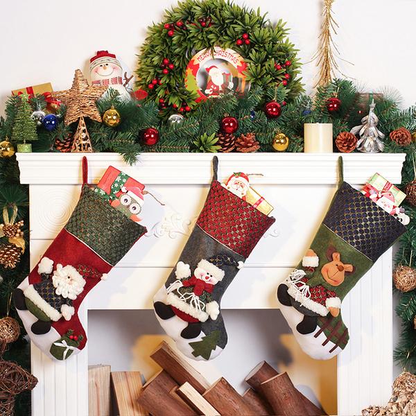 聖誕禮品27  聖誕樹裝飾品 禮品派對 裝飾 聖誕襪 禮物袋