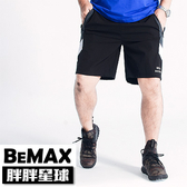 【胖胖星球】中大尺碼‧拼接撞色造型運動短褲 2XL~5XL‧加大【97401】