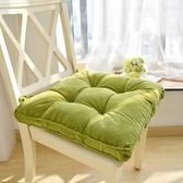 加厚填充布藝坐墊學生椅墊教室辦公室椅子墊子凳子地板座墊榻榻米
