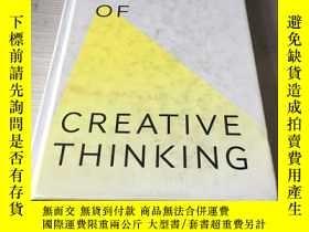 二手書博民逛書店The罕見art of creative thinking 創造