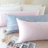 【R.Q.POLO】台灣製長枕 100%天絲萊賽爾布套 可拆洗長形枕容妝