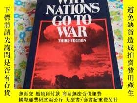 二手書博民逛書店WHY罕見NATIONS GO TO WARY185543 TH