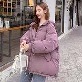 棉服女短款冬季新款韓版面包服寬鬆加厚棉衣外套