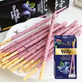 泰國進口 固力果 pocky 藍莓果肉棒 (35g) 超夯團購美食 顆粒餅乾棒