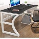 電腦桌 電腦臺式桌家用簡易臥室桌子電競桌簡約現代辦公桌學生寫字臺書桌【快速出貨八折下殺】