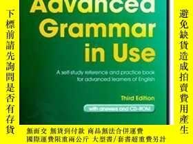 二手書博民逛書店Advanced罕見Grammar In Use Book With Answers And Cd-romY3