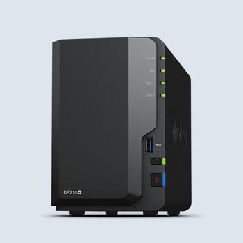 Synology DiskStation DS218+ 2 BAY全方位網路儲存NAS【無內建硬碟】