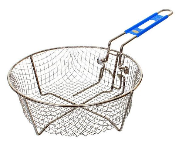 丹大戶外用品【LODGE】Fryer Accessories 9吋油炸籃 不鏽鋼材質/可動籃柄 8FB2