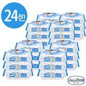貝恩 BAAN 超厚超純水濕紙巾 80抽/24包/箱 嬰兒柔濕巾 2466 箱購