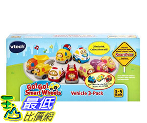 [COSCO代購] W122321 Vtech 嘟嘟小車 3 入組 Vtech go smart wheels 3 Packs