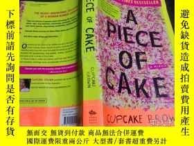 二手書博民逛書店英法德意等原版外文罕見A Piece of Cake: A Me