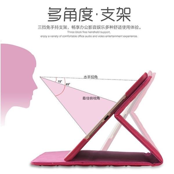 經典菱格 蘋果 ipad mini 5 2019 平板皮套 iPad mini 1/2/3/4 防摔 支架 智能休眠 全包邊 硬殼 保護套