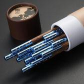 康勝雞翅木筷子家用實木高檔筷子10雙家庭裝無漆無蠟木質彩色筷子