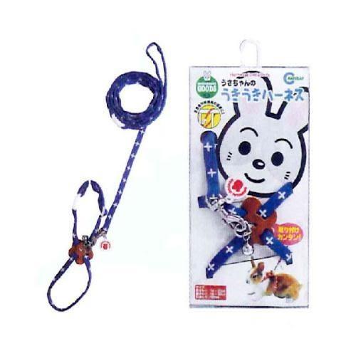 【培菓平價寵物網】日本《MARUKAN》兔用外出牽繩 (4種顏色)