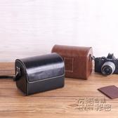 索尼A6400NEX佳能M62m50相機包EM富士xt30徠卡QP鬆下GF6尼康1膠片 衣櫥秘密