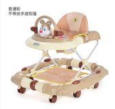 嬰兒學步車6/7-18個月寶寶防側翻多功能手推可坐男女孩帶音樂助步igo 嬡孕哺