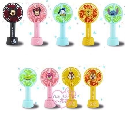 小花花日本精品迪士尼米妮系列usb電池皆可附掛繩底座三段調整風量手持風扇單一價99116002