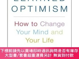 二手書博民逛書店Learned罕見Optimism:How to Change Your Mind and Your Life