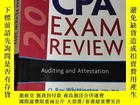 二手書博民逛書店Wiley罕見Cpa Exam Review 2012 Auditing And Attestation (大16