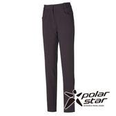 PolarStar 女 Soft Shell拼接保暖褲『暗灰』P15408