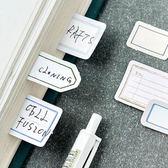 【BlueCat】陌墨復古標籤集盒裝貼紙 手帳貼紙